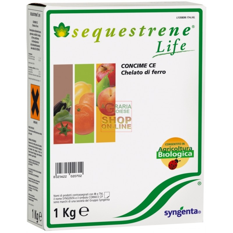 wholesale pesticides SYNGENTA SEQUESTRENE LIFE CHELATO DI FERRO