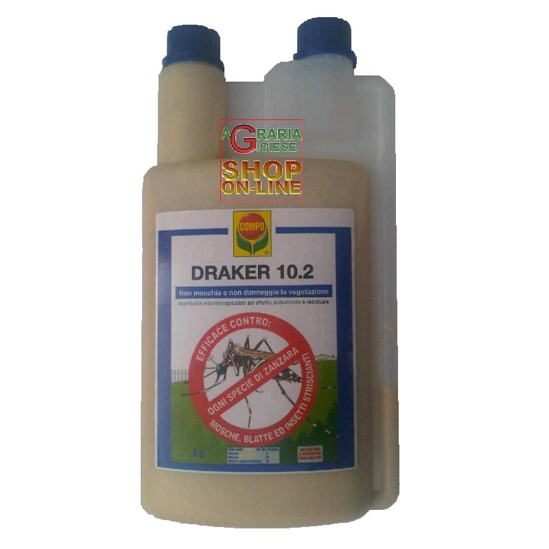 wholesale pesticides COMPO DRAKER 10.2 INSETTICIDA CONCENTRATO