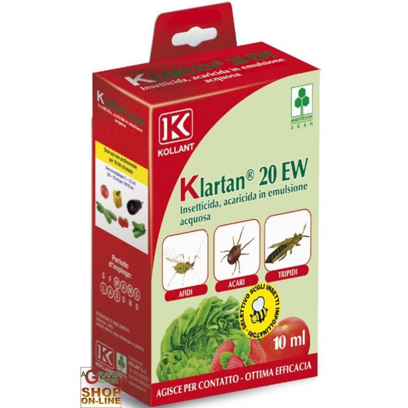 wholesale pesticides KOLLANT KLARTAN 20 EW ML. 10 TAU