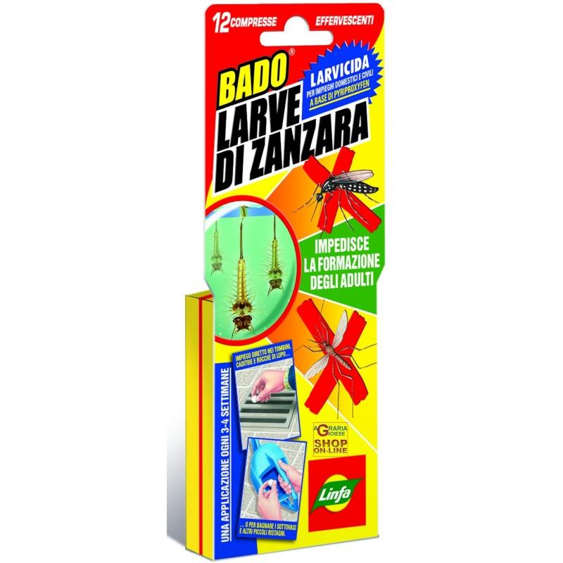 LINFA BADO LARVICIDA ANTIZANZARE 12 COMPRESSE Pyriproxyfen