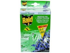 wholesale pesticides RAID ANTITARME MULTIPACK PZ 5 PIU 1