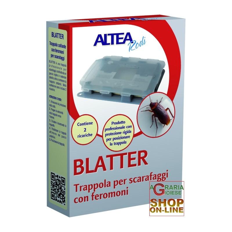 BLATTER TRAPPOLA COLLANTE PROFESSIONALE CON ATTRATTIVO