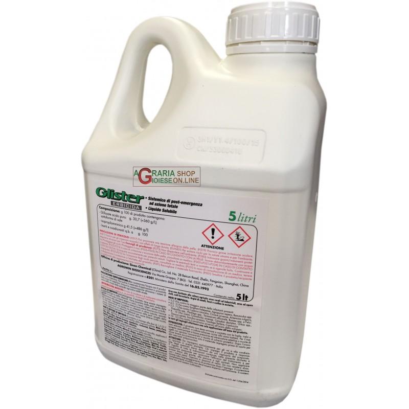 wholesale pesticides CHEMIA GLISTER ERBICIDA SISTEMICO DI