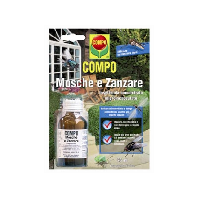 COMPO INSETTICIDA CONCENTRATO PER Mosche e Zanzare Draker 10.2