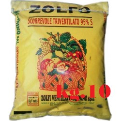 ZOLFO GIALLO SCORREVOLE TRIVENTILATO 95% KG. 10 MANNINO