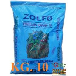 wholesale pesticides ZOLFO VENTILATO RAMATO 5% KG. 25 MANNINO
