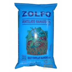 wholesale pesticides ZOLFO VENTILATO RAMATO 5% KG. 10 MANNINO