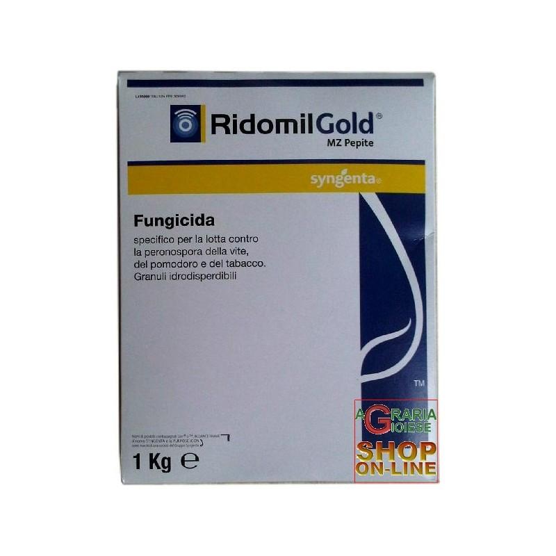 SYNGENTA RIDOMIL GOLD MZ PEPITE METALAXYL M MANCOZEB KG. 5